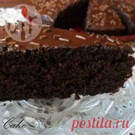 Рецепт: Шоколадный постный торт - все рецепты России