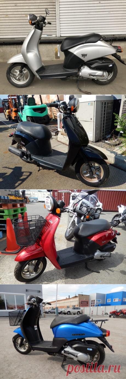 Скутер Honda Today: технические характеристики и отзывы
