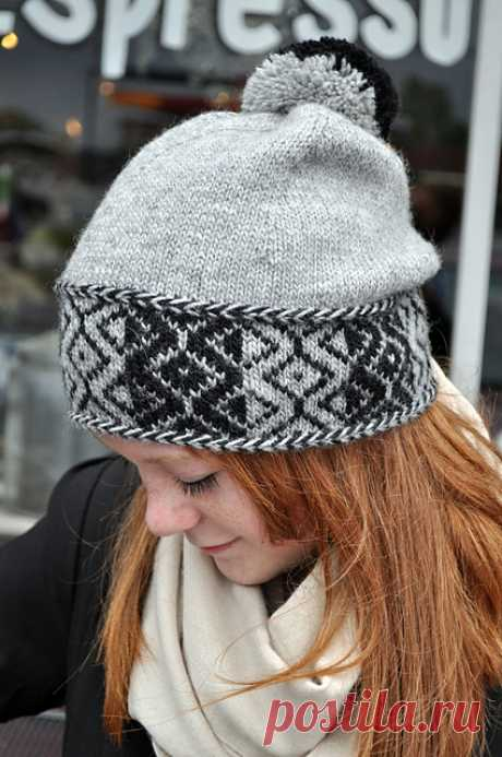 Ravelry: Radio Frequency Hat pattern by Mandy Powers