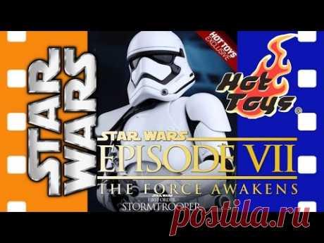 Фигурка штурмовик Первого Порядка (Лидер Отряда) Звездные Войны: Эпизод 7: Пробуждение силы Hot Toys