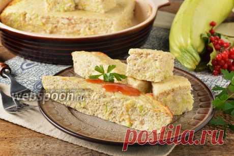 El soufflé de los calabacines con la gallina la receta de la foto, como preparar en Webspoon.ru