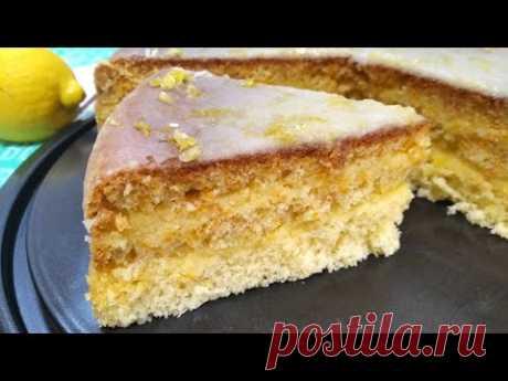 Торт Лимончелло - YouTube
