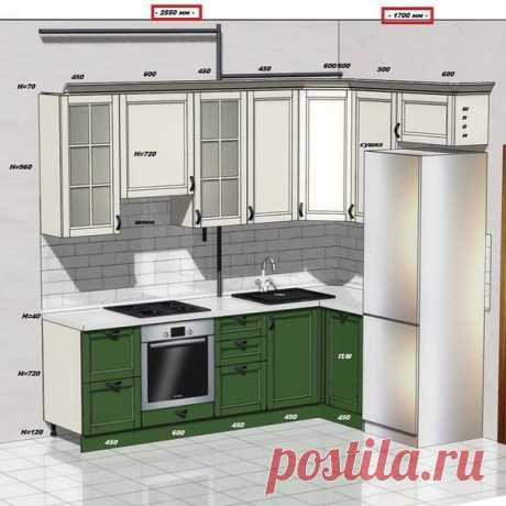 Готовые решения для ваших кухонь! Сохраните, пригодится.
