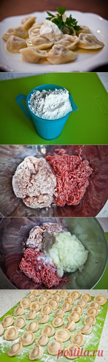 Пельмени с мясом