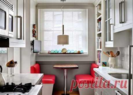 Варианты кухонных интерьеров — Наши дома