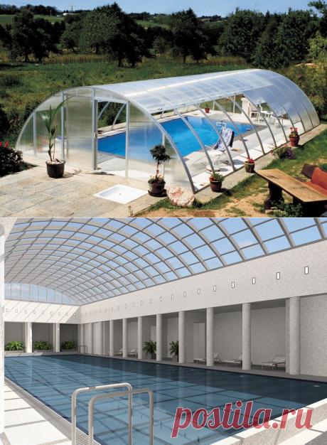 Крыша для бассейна: уход за павильоном для бассейна, как ухаживать за павильоном для бассейна