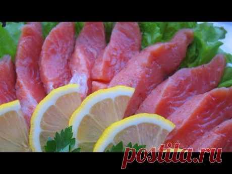 Солим горбушу за 24 часа   Бомбический рецепт   Salt the salmon   La Marin