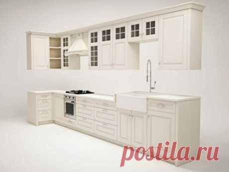 Кухня в американском стиле с голубым островом | flqu.ru - квартирный вопрос. Блог о дизайне, ремонте