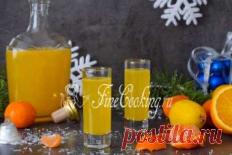 Citrus liqueur I again the recipe of home-made liqueur - I hope on the eve of winter holidays it is useful to you.