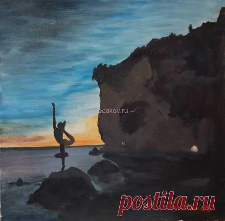 Танцовщица-символ Будвы - Официальный сайт художника Игоря Ясакова