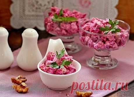 VIOLETTA SALAD Just on raskhvat! On a table it will not be in 5 minutes