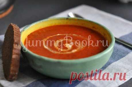Томатный суп-пюре, рецепт с фото пошагово | Первые блюда Томатный суп-пюре - как приготовить быстро, просто и вкусно в домашних условиях. Пошаговый рецепт с фотографиями, подробным описанием и ингредиентами.