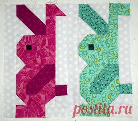 23 пасхальных шаблона для шитья - пэчворк и аппликация
