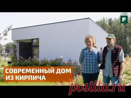 Обзор современного дома с плоской кровлей в столице Сибири: 85 м2 для путешественников // FORUMHOUSE