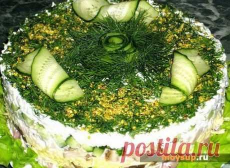 Салат с курицей, шампиньонами и сыром - что может быть вкуснее