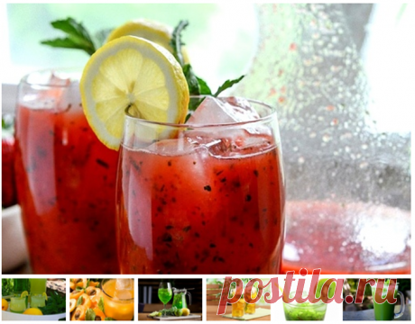 Домашний лимонад: 7 рецептов