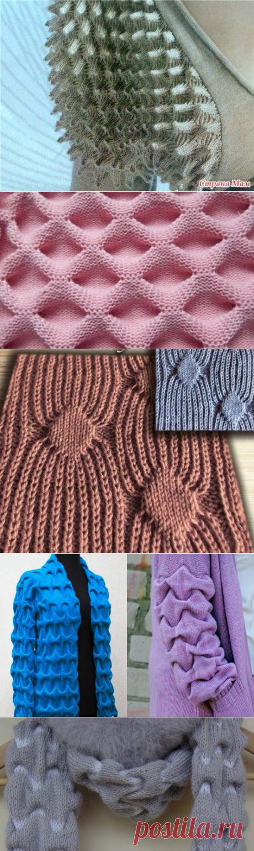 Узоры спицами. Необычные узоры, схемы вязания | Волшебные спицы | Яндекс Дзен