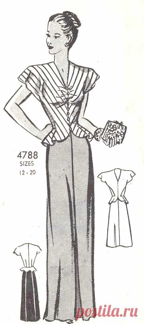 Женская блузка в  косую полоску