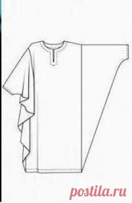 Платье в стиле бохо-шик