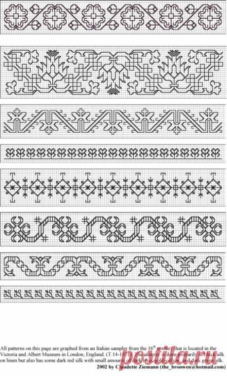 (6) Gallery.ru / Foto # 51 - patrones, motivos, muestras - ksulik75
