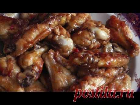 La receta de las alitas de gallina