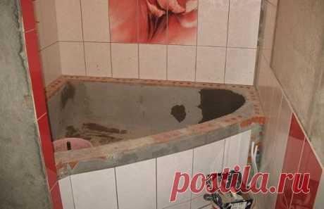 Как построить ванну из бетона своими руками