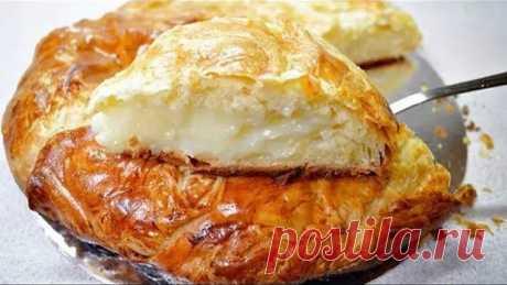 ФЫТЫР   Просто божественная идейка к чаю  Это египетская сладость, то ли пирог, то ли пирожное, но скажу одно - это безумно вкусно! Ингредиенты: Молоко 3 ст. Дрожжи сухие быстродействующие 0,5 ч.л. Яйцо куриное 2 шт. Мука пшеничная 3 ст. Масло сливочное 200 г Соль 1 щеп. Сахар 1 ст. Крахмал картофельный 3 ст.л. Ванильный сахар по вкусу Сахарная пудра по вкусу Приготовление: В 1 стакане теплого молока растворяем дрожжи, добавляем одно яйцо, соль, муку и замешиваем мягкое и ...