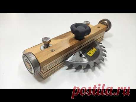 Посмотрите, как легко получить такой инструмент. - Изделия из дерева