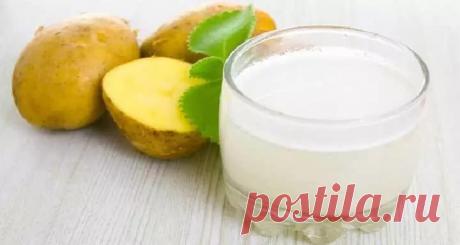 Сок картошки: удивительные свойства, о которых многие не знают