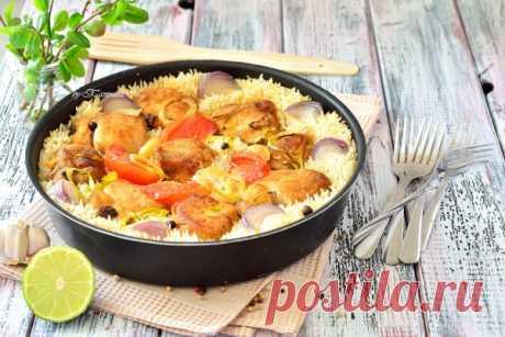 Грудка куриная с рисом | Кулинарный блог Татьяны М.