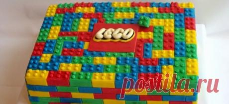 Торт «Лего»