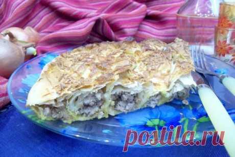 Мясной пирог в лаваше | CityWomanCafe.com