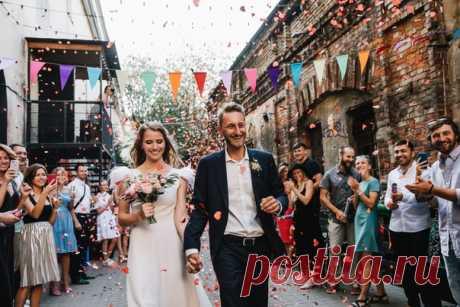 Молодежная свадьба в стиле casual 💥