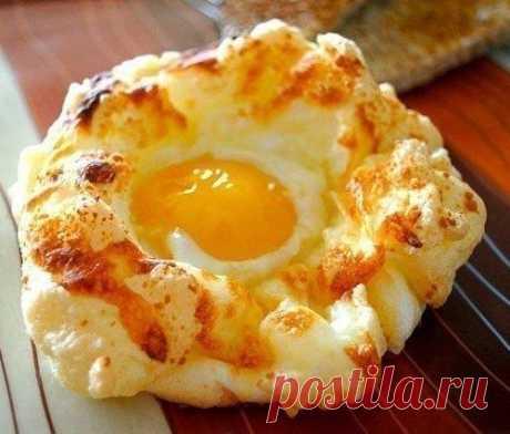 """""""Гнезда"""" - нежнейший завтрак. В восторге вся семья!"""
