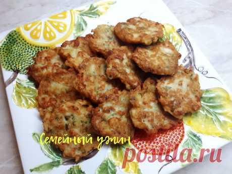 Рыбные драники/Оладьи из картофеля с рыбой