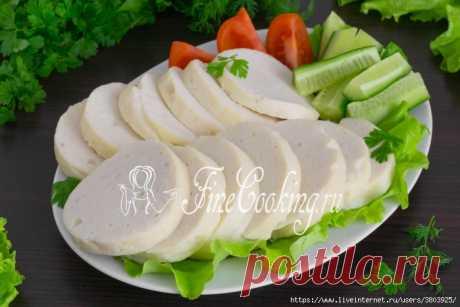 Домашняя куриная колбаса в … кружке на плите (самый быстрый и простой рецепт)