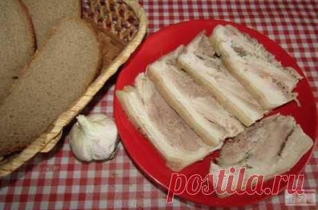 Свиная рулька на бутерброды — Кулинарная книга - рецепты с фото