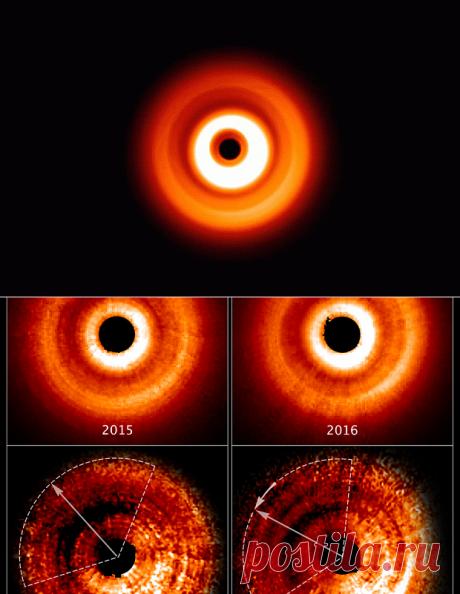 «Хаббл» снял театр теней, созданный экзопланетой иеезвездой — Популярная механика