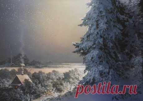 Творчество современного Белорусского художника В. Юшкевича. Зимние рапсодии