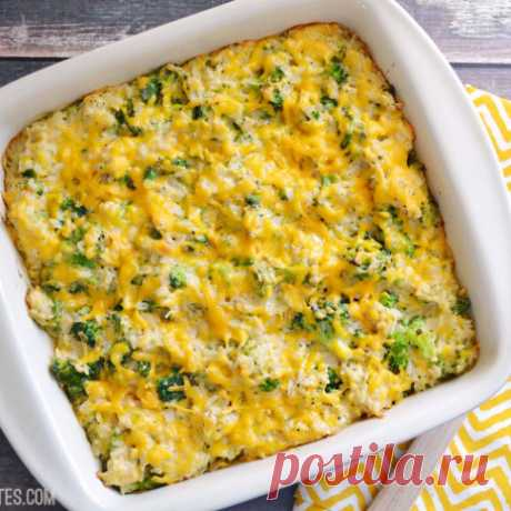 Запеканка из брокколи, рецепт приготовления