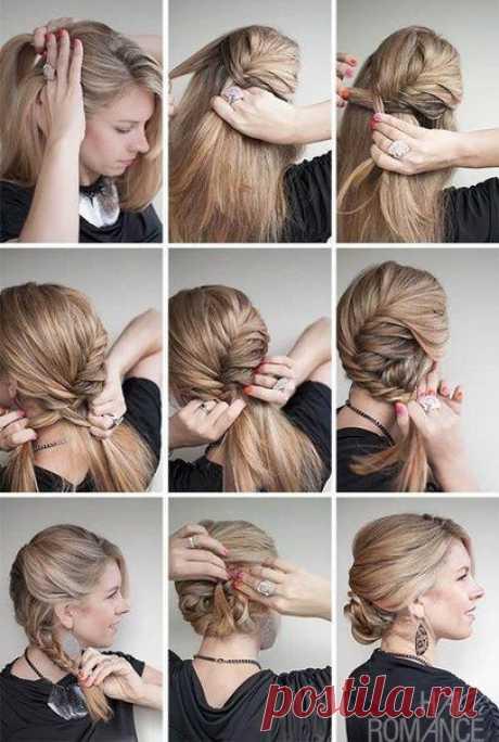 Идеи и уроки причёсок | 722 photos | VK