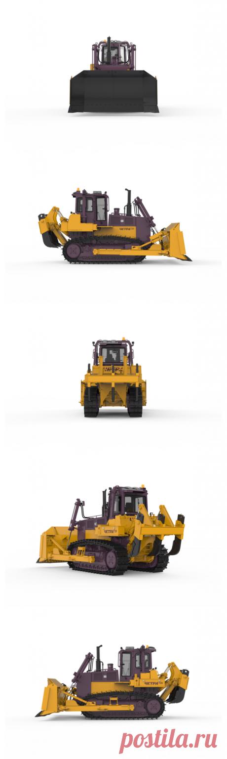 Купить бульдозер ЧЕТРА Т20 в Минске | Бульдозеры ЧЕТРА Т 20, технические характеристики, фото, цена