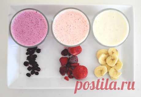 10 рецептов приготовления протеиновых коктейлей! Сохрани, чтобы не потерять!