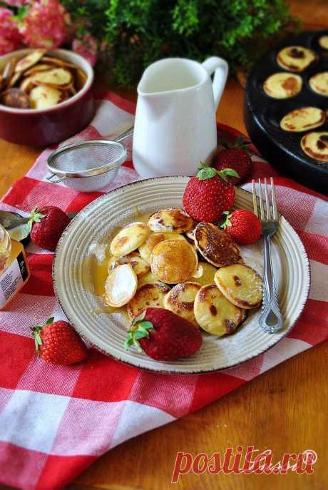 Холандски мини палачинки / Poffertjes (Dutch Mini Pancakes)