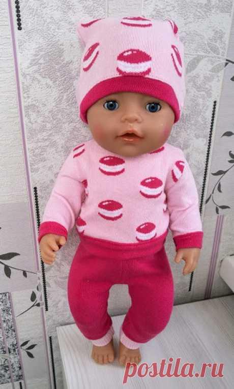 Боня, Бонечка, Бонита! Одежда для Беби Бон своими руками, вязаная и шитая. - Гардероб для куклы - Страна Мам