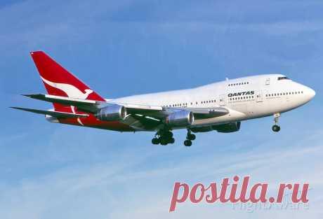 Фото Qantas 743S (VH-EAA) - FlightAware