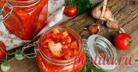 Цветная капуста с томатами на зиму.   DiDinfo   Яндекс Дзен