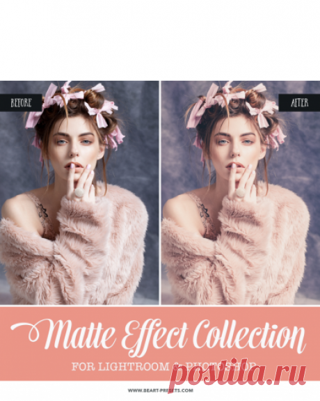 Matte Collection: Lightroom Presets, Photoshop Actions and ACR Presets — Lightroom Presets and Photoshop Actions