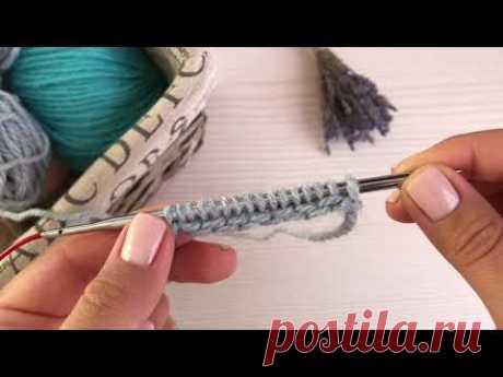 ДВОЙНОЙ СКРЕСТНЫЙ НАБОР для платочной вязки, патентных узоров и резинок