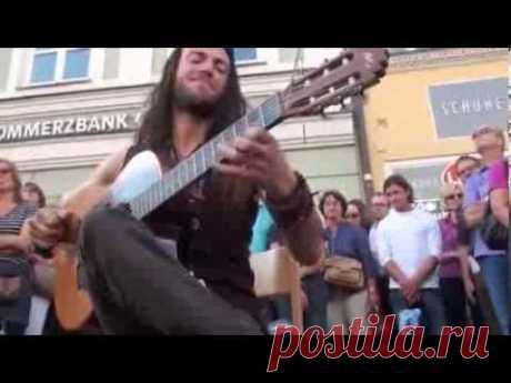 Гитара в руках виртуоза,волшебника (зачёт) пример и подрожание новичкам в пример - YouTube
